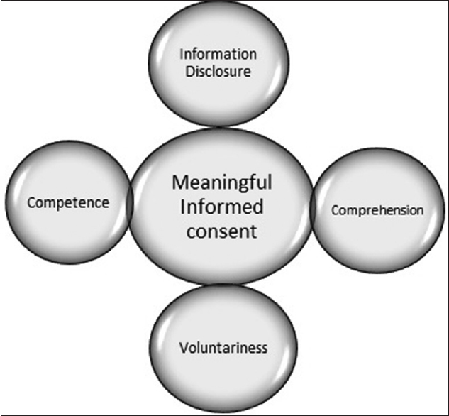 Figure 1: Components of a valid and meaningful informed consent