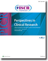 Perspectives in Clinical Research
